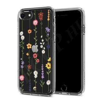 Apple iPhone 8 virágmintás hátlap