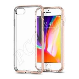 Apple iPhone SE(2020) arany-átlátszó hátlap