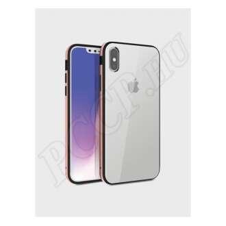 Apple iPhone X arany szilikon hátlap