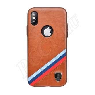 Apple iPhone X barna prémium hátlap
