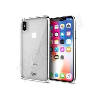 Apple iPhone X ezüst hátlap