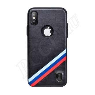 Apple iPhone X fekete prémium hátlap