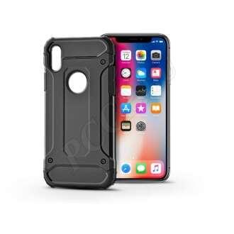 Apple Iphone X fekete ütésálló hátlap