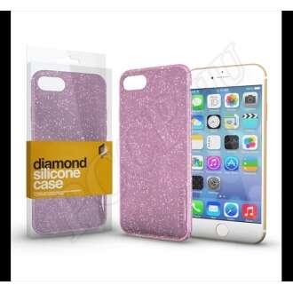 Apple iPhone X rózsaszín szilikon hátlap - Xprotector