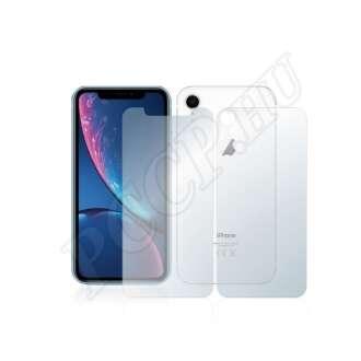 Apple iPhone XR (elő- és hátlap) kijelzővédő fólia