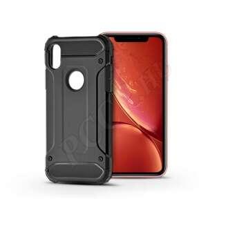 Apple Iphone Xr fekete ütésálló hátlap