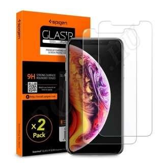 Apple iPhone XR üveg kijelzővédő fólia (2db)