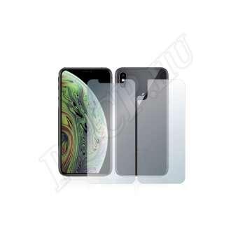 Apple iPhone Xs (elő- és hátlap) kijelzővédő fólia