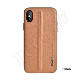 Apple iPhone Xs Max barna prémium hátlap