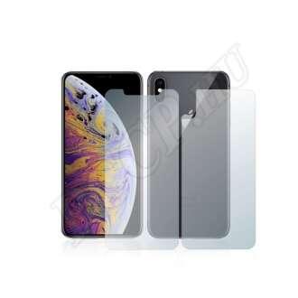 Apple iPhone Xs Max (elő- és hátlap) kijelzővédő fólia