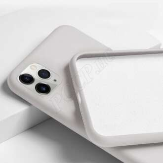 Apple Iphone Xs Max fehér prémium szilikon hátlap