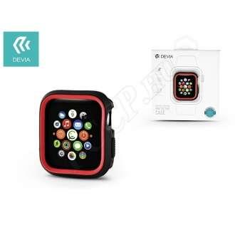 Apple Watch 4 (40mm) fekete/piros védőtok