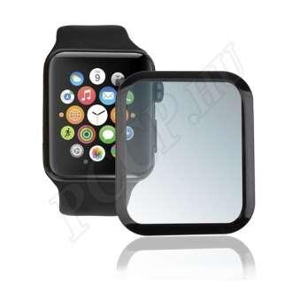 Apple Watch 4 (44 mm) üveg kijelzővédő fólia fekete színben