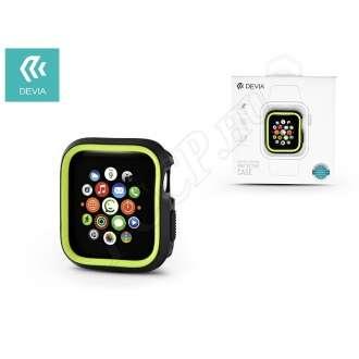 Apple Watch 4 (44mm) fekete/neon zöld védőtok
