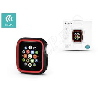 Apple Watch 4 (44mm) fekete/piros védőtok