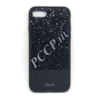 Apple Iphone 7 csillogó fekete design hátlap