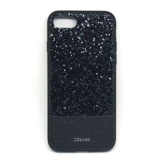 Apple Iphone 8 Plus csillogó fekete design hátlap