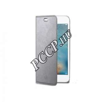 Huawei P10 Plus ezüst flip cover tok