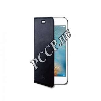 Apple iPhone 7 fekete flip cover tok