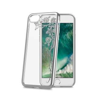 Apple Iphone 7 rózsa mintás műanyag hátlap