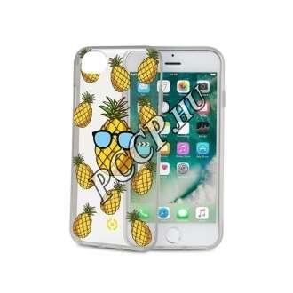 Apple Iphone 7 ananász mintás hátlap