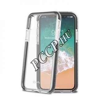Apple Iphone X fekete műanyag hátlap