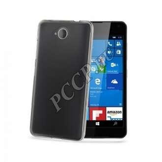 Microsoft Lumia 650 átlátszó szilikon hátlap