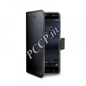 Nokia 5 fekete oldalra nyíló tok