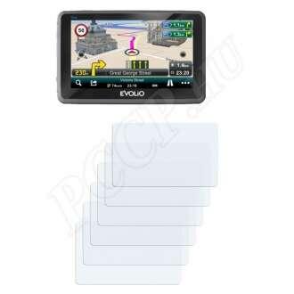 Evolio GPS Preciso 5 col kijelzővédő fólia
