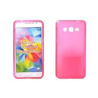 Samsung Galaxy Grand Prime pink vékony szilikon hátlap