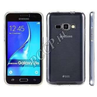 Samsung Galaxy J1 (2016) átlátszó ultravékony szilikon hátlap