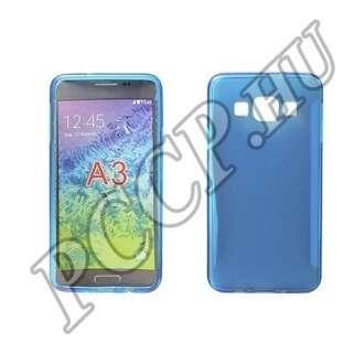 Samsung Galaxy Xcover 3 kék vékony szilikon hátlap