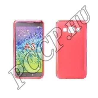 Samsung Galaxy Xcover 3 pink vékony szilikon hátlap