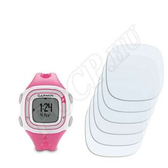 Garmin Forerunner 10 Pink/Fehér kijelzővédő fólia