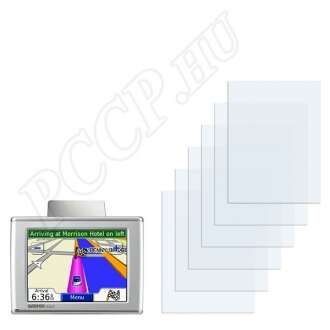 Garmin nüvi 370T kijelzővédő fólia