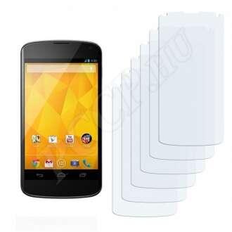 Google Nexus 4G kijelzővédő fólia