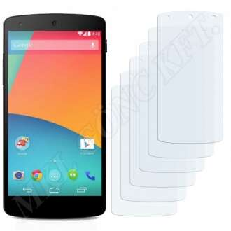 Google Nexus 5 kijelzővédő fólia