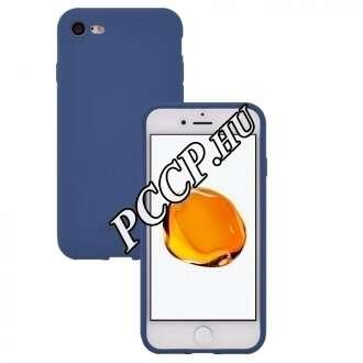 Apple Iphone XS kék szilikon hátlap