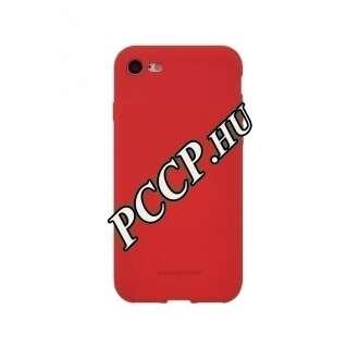 Apple Iphone XS piros szilikon hátlap
