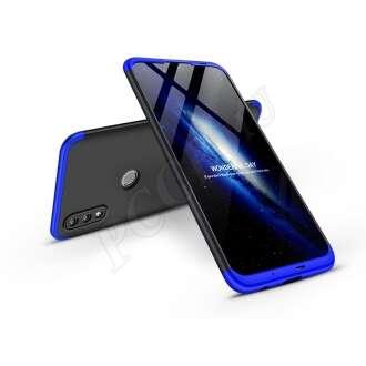Honor 10 Lite fekete/kék három részből álló védőtok