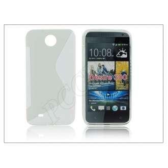 HTC Desire 300 átlátszó szilikon hátlap