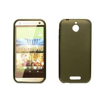 HTC Desire 626 fekete vékony szilikon hátlap