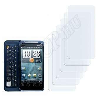 HTC EVO Shift 4G kijelzővédő fólia