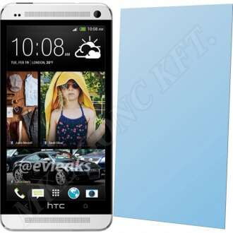 HTC One (M7) kijelzővédő fólia