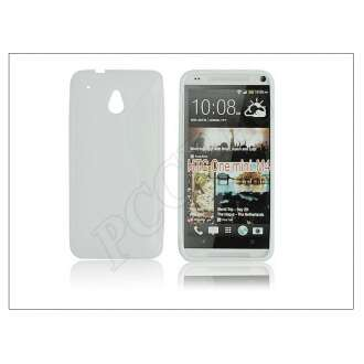 HTC One Mini (M4) fehér szilikon hátlap