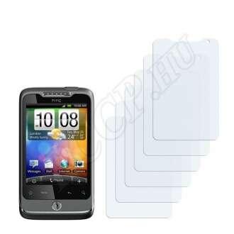 HTC Wildfire CDMA kijelzővédő fólia