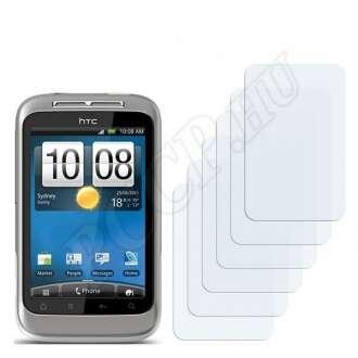 HTC Wildfire S A510e kijelzővédő fólia