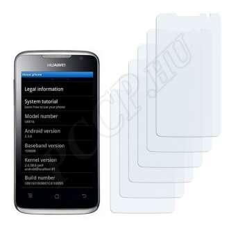 Huawei Ascend G301 U8816 kijelzővédő fólia