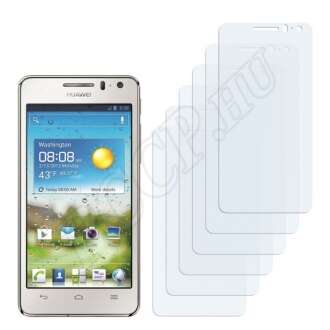 Huawei Ascend G600 U8950 kijelzővédő fólia