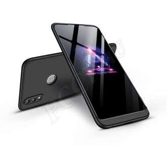 Huawei Honor 8X fekete három részből álló védőtok